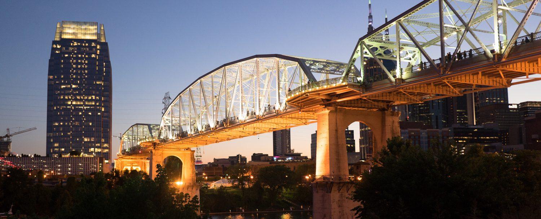 Pedestrian Bridge in Nashville