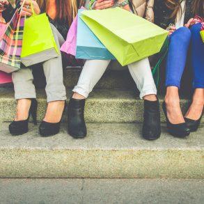 Women shopping at The Arcade Nashville