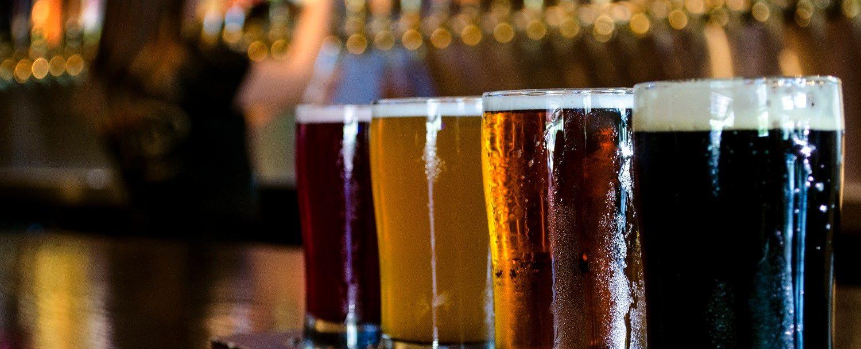 Beer Selection at Jackalope Brewing Company