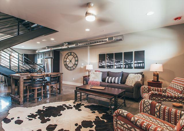 Modern Cowboy interior; near the best Gay-Friendly Nashville spots