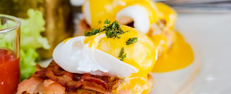 An egg sandwich at one of the best Nashville Breakfast Spots
