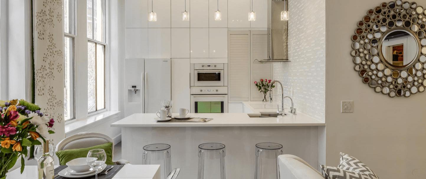 white based kitchen
