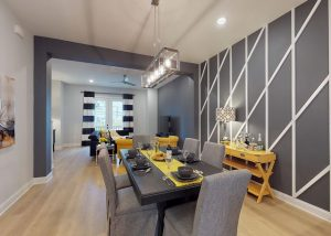 Nashville vacation rental dining table