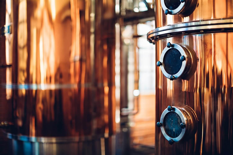 distillery copper machine