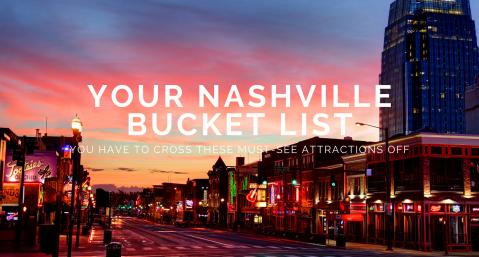 nashville bucket list